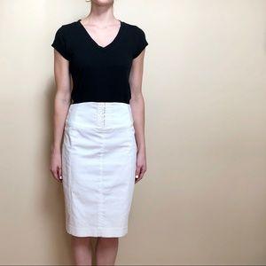 Express | white pencil skirt